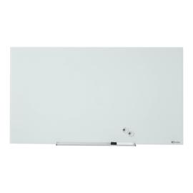 """Glas-Magnetboard Diamond Widescreen 57"""" 71x126cm weiß magnetisch Nobo 1905177 Produktbild"""