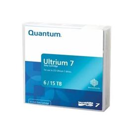Quantum - 20 x LTO Ultrium 7 - 6 TB / 15 TB - Mit Strichcodeetikett - Violett - Library Pack Produktbild