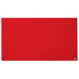 "Glas-Magnetboard Diamond Widescreen 45"" 56x100cm rot magnetisch Nobo 1905184 Produktbild"