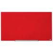"Glas-Magnetboard Diamond Widescreen 45"" 56x100cm rot magnetisch Nobo 1905184 Produktbild Additional View 1 S"