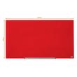 "Glas-Magnetboard Diamond Widescreen 45"" 56x100cm rot magnetisch Nobo 1905184 Produktbild Additional View 6 S"