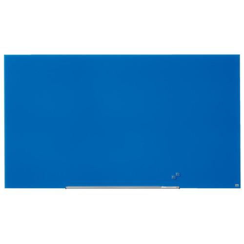 "Glas-Magnetboard Diamond Widescreen 85"" 106x188cm magnetisch blau Nobo 1905190 Produktbild Additional View 6 L"