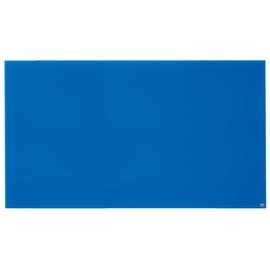 "Glas-Magnetboard Diamond Widescreen 85"" 106x188cm magnetisch blau Nobo 1905190 Produktbild"