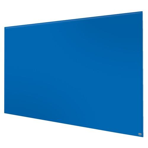 "Glas-Magnetboard Diamond Widescreen 85"" 106x188cm magnetisch blau Nobo 1905190 Produktbild Additional View 2 L"