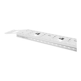 "DIGITUS Professional DN-19-ORG-42U-CT-N - Kabelverwaltungssystem für Gestell - Grau, RAL 7035 - 42HE - 48.3 cm (19"") Produktbild"