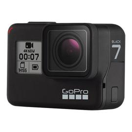 GoPro HERO7 Black - Action-Kamera - montierbar - 4K / 60 BpS - 12.0 MPix - Wi-Fi, Bluetooth Produktbild