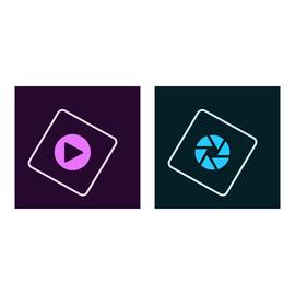 Adobe Photoshop Elements 2019 & Premiere Elements 2019 - Lizenz - 1 Benutzer - Download - ESD - Win Produktbild