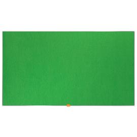 """Textil-Pinnwand mit Aluminiumrahmen Widescreen 55"""" 123x70cm grün Nobo 1905316 Produktbild"""