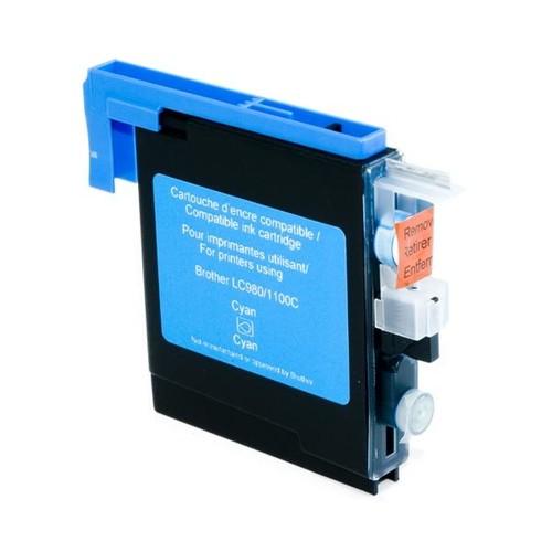 Tintenpatrone (LC-1100C/LC-980C) für DCP-185C/MFC-790CW 660 Seiten cyan BestStandard Produktbild Front View L