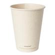 Coffee to Go Becher 0,35l Ø90mm Bagasse+PLA ecoecho (PACK=50 STÜCK) Produktbild