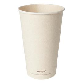 Coffee to Go Becher 0,47l Ø90mm Bagasse+PLA ecoecho Duni 182534 (PACK=36 STÜCK) Produktbild