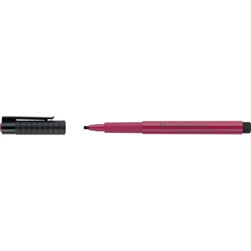 Tuschestift PITT ARTIST PEN Calligraphy 2,5mm brekarminrosa Faber Castell 167527 Produktbild Front View L
