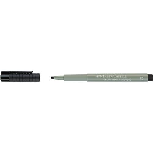 Tuschestift PITT ARTIST PEN Calligraphy 2,5mm breit warmgrau III Faber Castell 167972 Produktbild Front View L