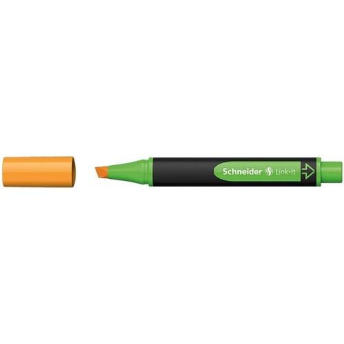 Textmarker Link-It 1-4mm Keilspitze orange Schneider 119206 Produktbild Front View L