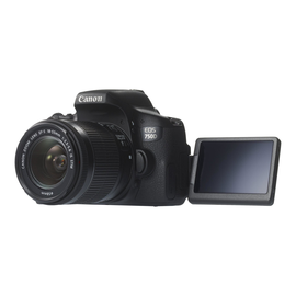 Canon EOS 750D - Digitalkamera - SLR - 24.2 MPix - APS-C - 1080p Produktbild