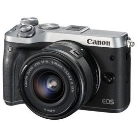 Canon EOS M6 - Digitalkamera - spiegellos - 24.2 MPix - APS-C - 1080p / 60 BpS Produktbild