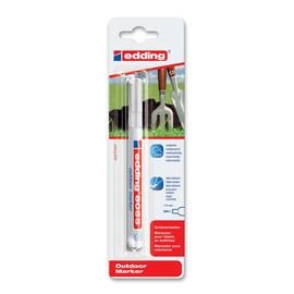 Outdoor Marker 8055 1-2mm Rundspitze weiß Edding 4-8055-1-1049 Produktbild