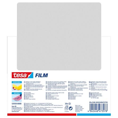 Klebefilm neon 19mm x 10m pink/gelb Tesa 53930-00000 Produktbild Additional View 3 L