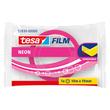 Klebefilm neon 19mm x 10m pink/gelb Tesa 53930-00000 Produktbild Additional View 1 S