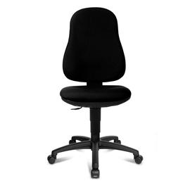 Drehstuhl Point 50 ohne Armlehnen schwarz Topstar 7020 Produktbild