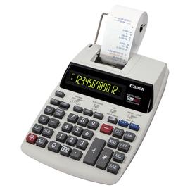 Tischrechner 12-stelliges Display 62x189x266mm zweifarbiger Druck Batteriebetrieb Canon MP120-MG es Produktbild