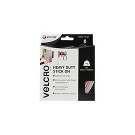 VELCRO Brand Heavy Duty Stick On - Selbstklebendes Klettband - 5 cm x 2.5 m - weiß Produktbild