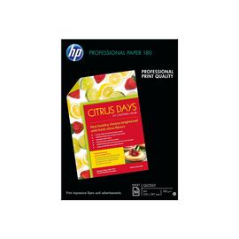 HP Superior Inkjet Paper 180 - Glänzend - A3 (297 x 420 mm) - 180 g/m² - 50 Blatt Papier - für Officejet 7000 E809; Produktbild