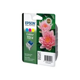 Epson T014 - 25 ml - Farbe (Cyan, Magenta, Gelb) - Original - Blisterverpackung - Tintenpatrone Produktbild