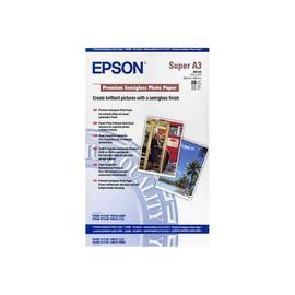 Epson Premium Semigloss Photo Paper - Halbglänzend - A3 plus (329 x 423 mm) 20 Blatt Fotopapier - für SureColor P5000, Produktbild