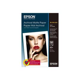 Epson Archival - Matt - Super A3/B (330 x 483 mm) - 192 g/m² - 50 Blatt Papier - für SureColor P5000, P800, SC-P10000, Produktbild