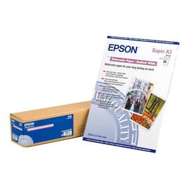 Epson - Radiant White - A3 plus (329 x 423 mm) - 188 g/m² - 20 Blatt Wasserfarbenpapier - für Stylus Pro 4900 Produktbild
