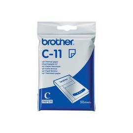 Brother - A7 (74 x 105 mm) 50 Blatt Thermopapier - für m-PRINT MW-100, MW-120, MW-140BT, MW-145BT Produktbild