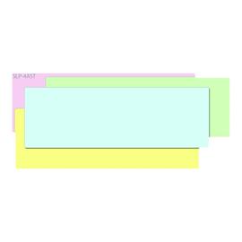 Seiko Instruments SLP-4AST - Blau, Gelb, grün, pink - 28 x 89 mm 520 Etikett(en) (4 Rolle(n) x 130) Produktbild