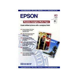 Epson Premium - Halbglänzend - A3 (297 x 420 mm) - 251 g/m² - 20 Blatt Fotopapier - für SureColor P5000, P800, Produktbild