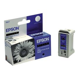 Epson T017 - 17 ml - Schwarz - Original - Blisterverpackung - Tintenpatrone Produktbild