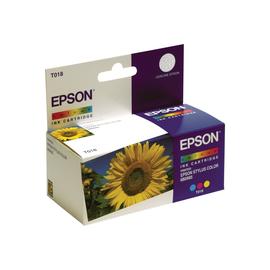 Epson T018 - 37 ml - Farbe (Cyan, Magenta, Gelb) - Original - Blisterverpackung - Tintenpatrone Produktbild