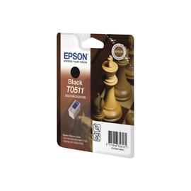 Epson T0511 - 24 ml - Schwarz - Original - Blisterverpackung - Tintenpatrone Produktbild