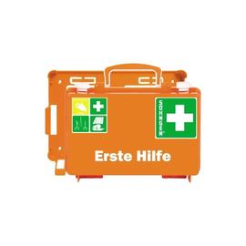 Aktion Erste-Hilfe-Koffer Quick-CD 26x17x11cm orange gefüllt nach DIN 13157 Söhngen 3001125 Produktbild