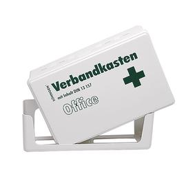 Aktion Erste-Hilfe-Verbandskasten 26x16x7cm weiß gefüllt nach DIN 13157 Söhngen 3003056 Produktbild