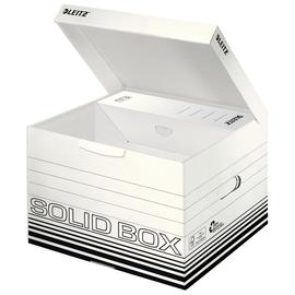 Archiv Container Solid mit Deckel Größe M 360x325x270mm weiß Leitz 6118-00-01 Produktbild