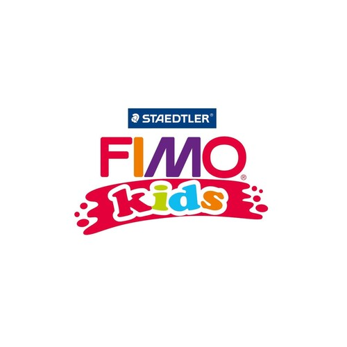 Modelliermasse FIMO Kids ofenhärtend Funny papiers 2x42g sortiert Blister Staedtler 8035 17 Produktbild Additional View 2 L