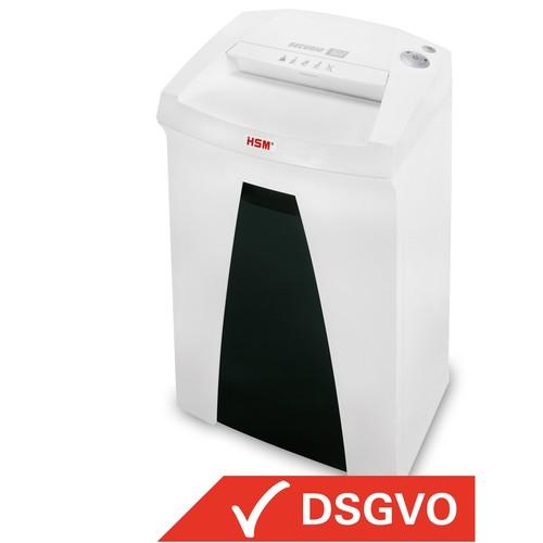 Aktenvernichter SECURIO B22 für 4-5Blatt 0,78x11mm Partikelschnitt HSM 1835121 (Sicherheitsstufe P-6) Produktbild