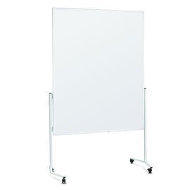 Moderationswand mobil 150x120cm weißer Karton Magnetoplan 2111100 Produktbild