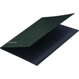 Unterschriftsmappe 10Fächer A4 schwarz Karton Soennecken 1495 Produktbild