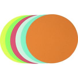 Moderationskarten Kreis groß ø 195mm farbig sortiert Soennecken 4876 (PACK=250 STÜCK) Produktbild