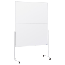 Moderationswand klappbar mobil 120x150cm weißer Karton Magnetoplan 2111300 Produktbild