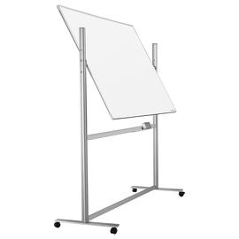 Mobile Stativ-Drehtafel ferroscript 150x100cm weiß beidseitig lackiert Magnetoplan 1242315 Produktbild