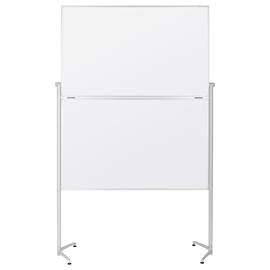 Moderationswand evolution plus klappbar 120x150cm weißer Karton Magnetoplan 1151300 Produktbild