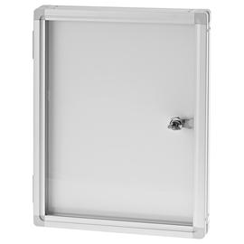 Schaukasten SP für Innenbereich 1xA4 mit Flügeltür 37,7x29x4cm Metall- Rückwand magnetisch Magnetoplan 1215400 Produktbild
