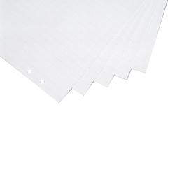 Flipchartblock 20Blatt holzfrei 65x93cm weiß kariert/blanko Magnetoplan 1227101 (PACK=5 STÜCK) Produktbild